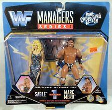WWF WWE Classic Bone Crunching Superstars Managers Sable Rena & Marc Mero Jakks