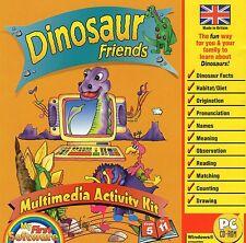 Gli Amici Dinosauro | età 5 - 11 | Windows 95 XP 98 (7 8 10 vedi lista)