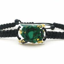 Malachite Orgonite(2.4cm x 1.8cm) Bracelet-Wealth,Love,Meditation-talisman
