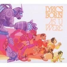 LYRICS BORN (AS U WERE CD - BRAND NEW + FREE POST)