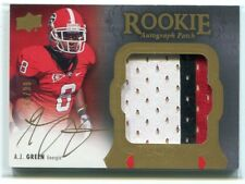 2011 Exquisite Collection 151 A. J. Green Rookie Patch Auto 85/99