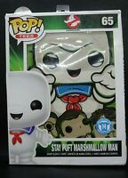 Funko POP Tees Ghostbusters STAY PUFT MARSHMALLOW MAN T-Shirt Standee M SIZE