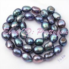 9-10mm Natural Potato Cultured Freshwater Pearl Gemstone Spacer Beads Strand 15""