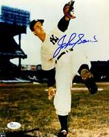 Johnny Sain Jsa Certified Authentic Hand Signed 8x10 Photo Autograph Yankees