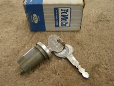NOS OEM Ford 1966 1967 Galaxie Station Wagon Tail Gate Lock Cylinder + Keys LTD