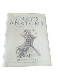 Gray's Anatomy Descriptive and Surgical A Facsimile Massive Hardcover
