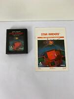 Star Raiders (Atari 2600, 1982) By Sears TELE-GAMES (Cartridge & Manual)