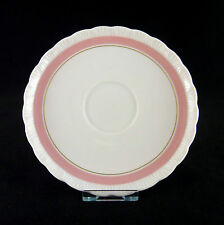 Hutschenreuther Porcelaine Rosé, Desiree/Monique, Untertasse Porzellan rosa rose