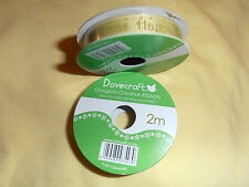 NEW - Dovecraft Grosgrain Creative Ribban - Happy Christmas - 2m (x1) (b)