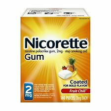 Nicorette Nicotine Gum 2mg Fruit Chill 160 EA