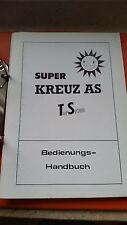 Merkur Geldspielautomat Handbuch Super Kreuz As