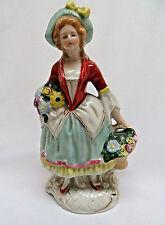 England Bone China Victorian Lady Figurine rb68
