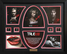 True Blood Limited Edition Signatures Framed Memorabilia