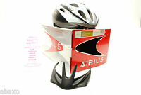 Airius Argo Mountain/Road Bike Bicycle Cycling Helmet Adult Large White/Silver