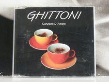 GHITTONI - CANZONE D'AMORE - CD SINGLE COME NUOVO LIKE NEW
