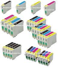 Lot de cartouches d'encre epson non-oem T807 T715 T1285 T1295 T1816 18XL