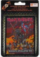 Official Merch Woven Sew-on PATCH Metal Rock Eddie IRON MAIDEN Maiden England 88