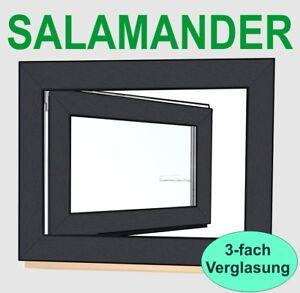 Anthrazitgrau Kunststofffenster  RAL7016 Fenster Welthaus 3 fach Verglasung