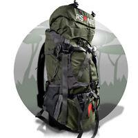 60 L Wanderrucksack Reiserucksack Trekkingrucksack Regenschutz Camping RSonic