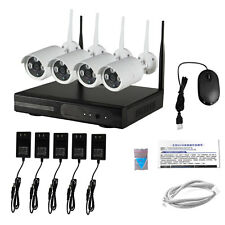 WIFI 8CH 720P Wireless IP Home CCTV Security Camera System NVR P2P Outdoor Video