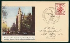 Mayfairstamps Australia 1956 Olympic Mobil Post Office Shooting Cancel Cover wwp