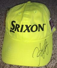 7aa7a2f2307 Hideki Matsuyama Signed Srixon Golf Hat New with tags with proof