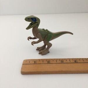 LEGO Velociraptor CHARLIE Dinosaur Figure Jurassic World Dino Raptor