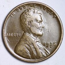 XF DETAIL 1926-D Lincoln Wheat Cent Penny FREE SHIPPING