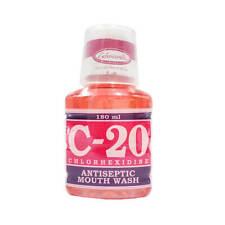 C-20 Chlorhexidine Antiseptic Mouth Wash180ml  treat gingivitis inflammation