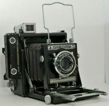 Graflex 2x3 Speed Graphic Camera w/ Optar 101mm f4.5 Lens