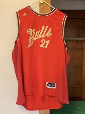 Chicago Bulls Jimmy Butler #21 Christmas Xmas 2015 Swingman Size XXXL Jersey