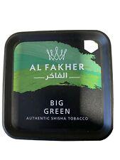 Tabac Chicha Al Fakher Big Green Goût Menthe 1kg