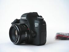 Canon EOS 6D Digital SLR Camera 20.2 MP With 50mm F/1.8 Lens 5347644 (2 LENSES)