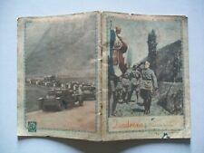 Quaderno Scolastico FRONTE OCCIDENTALE 1940 Il Duce saluta la bandiera...