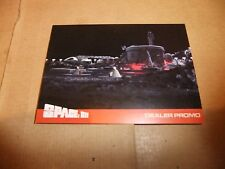 GERRY ANDERSON SPACE 1999 series 2 UNSTOPPABLE EXCLUSIVE DEALER PROMO CARD TMP1
