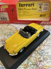 MODEL BEST FERRARI 330 GTC SPYDER YELLOW ART.9131 1:43 NEW DIE-CAST