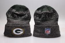 Green Bay Packers Football NFL Unisex Knitted Beanie Hat Cap Dark Grey AU Stock