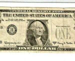 """$1 """"MISSING SEALS & SERIALS"""" (ERROR) 1963-A $1 """"MISSING SEALS & SERIALS"""" RARE!!!"""