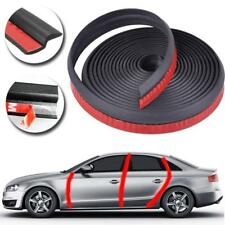 6M Z Type Car Door Edge Rubber Seal Strip Hollow Weatherstrip Trim Protector