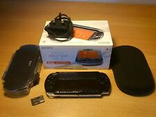 Sony PSP (Playstation Portable) 3000 Piano Black Handheld System - Free Shipping