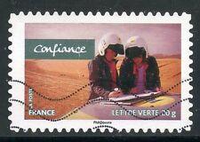 TIMBRE FRANCE AUTOADHESIF OBLITERE N° 811 /  SPORT / VALEURS DE FEMMES
