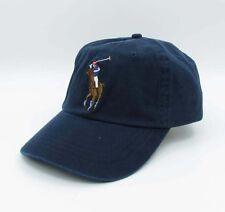 Big Pony Polo Hat Dark Blue Baseball Cap Sport Golf Tennis Unisex SunHat 031