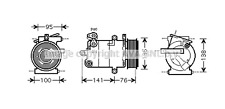 Fiat Ducato AIR-CON COMPRESSOR Ford Transit Ford Tourneo