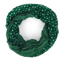 Loop Schal grün ivory Ella Jonte Punkte Damenschal Punkteschal gepunktet new in