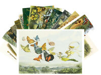 Postcards Pack [24 cards] In Fairy Land Richard Doyle Vintage Book CD3012