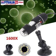 1600X Magnification Portable USB Digital Microscope Lab Video Camera Magnifier