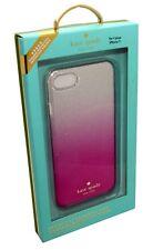 Kate Spade New York Designer Hardshell Pink Glitter Case Cover iPhone 8/7 - NEW