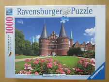 Puzzle 1000 Teile Ravensburger Lübeck Holstentor Deutschl. collection soft click