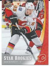 2015-16 UD NHL Stars Rookies SAM BENNETT #3 Rookie Calgary Flames
