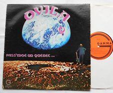 OVILA BLAIS Pass'moé un Quebec CANADA ORIG 1976 PSYCH FUNK LP w/ Insert